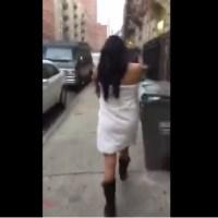 Machismo e infidelidad: arrestan hombre que hace desfilar mujer desnuda en calles de Nueva York