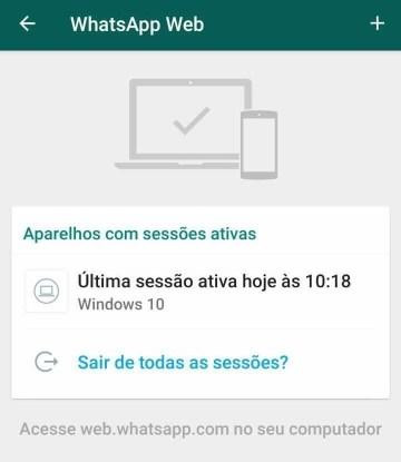 whatsapp web segurança