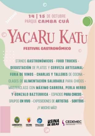 Festival-gastronómico-Yacarú-Catú