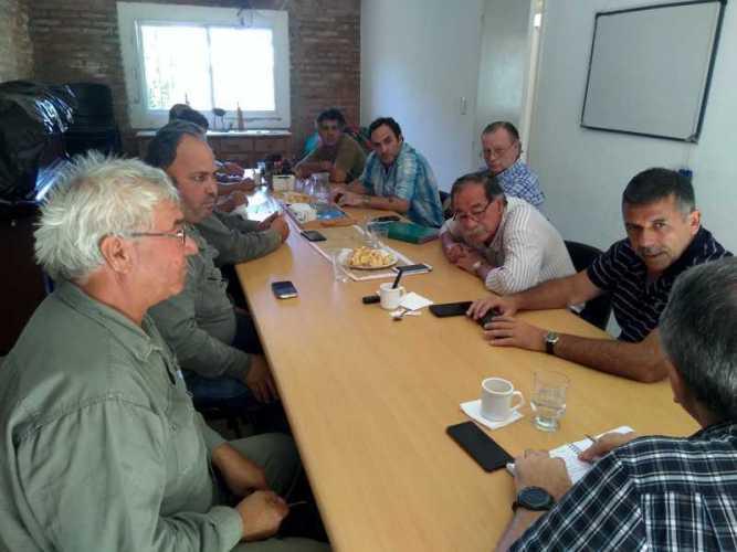 """Visita del Interventor de la """"DPEC"""" a Paso de la Patria"""