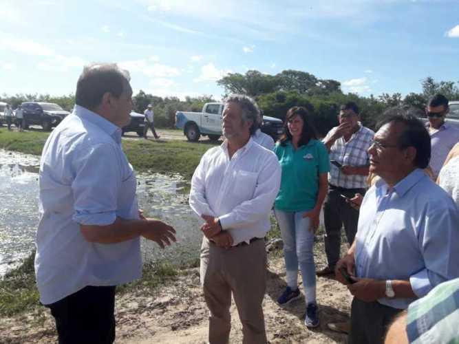 Rubinstein vino a Corrientes y garantizó asistencia sanitaria pos inundación