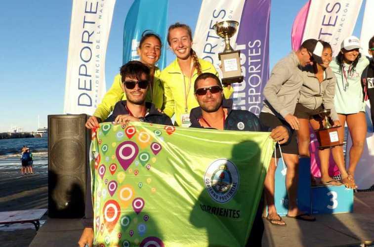 Corrientes cerró su participación en los Nacionales de Playa de Puerto Madryn