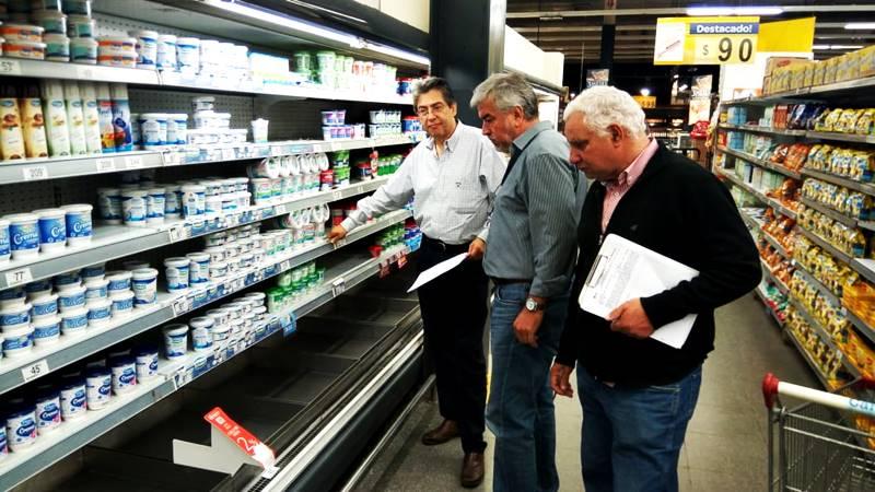 Sanciones por faltante de productos en góndola