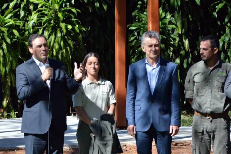El presidente Mauricio Macri en Corrientes
