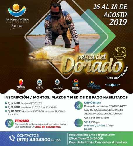 Reglamento 56° Torneo Nacional de Pesca del Dorado 2019