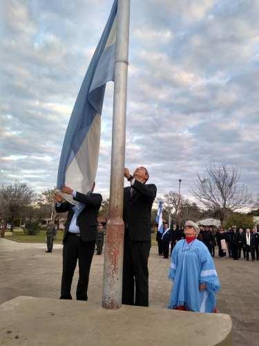Celebración del Día de la Independencia en Paso de la Patria