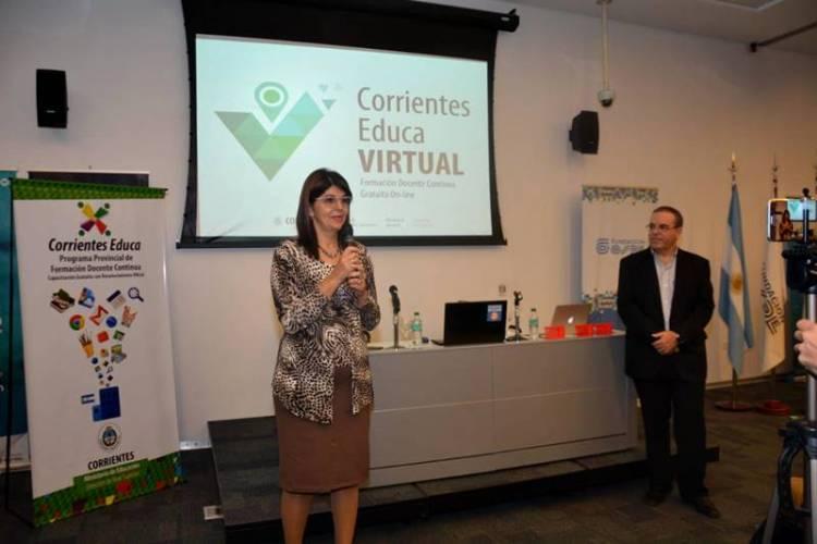 Encuentro Provincial del Programa Corrientes Educa Virtual