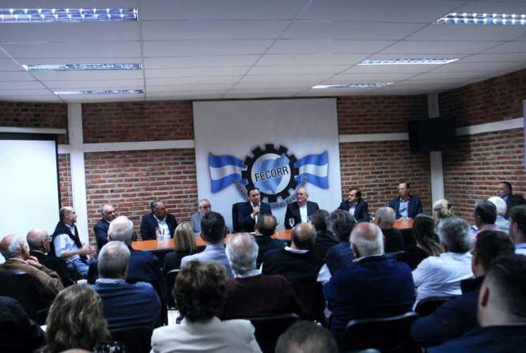 Gustavo Valdés hizo un repaso de su gestión ante la FECORR