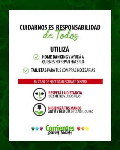 Corrientes anuncia fechas de pago de marzo