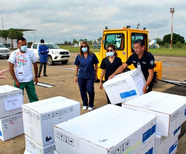 Respiradores e insumos sanitarios para Corrientes