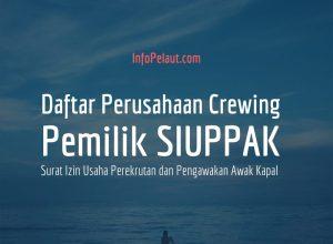 Daftar perusahaan crewing SIUPPAK Manning Agent Indonesia