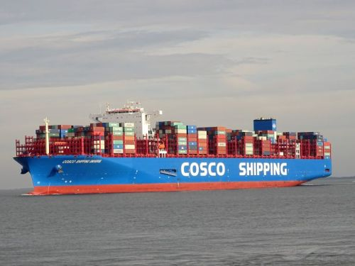 Kapal Kontainer Terbesar Di Dunia - COSCO SHIPPING UNIVERSE
