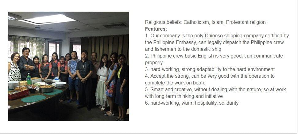Filipino Crew