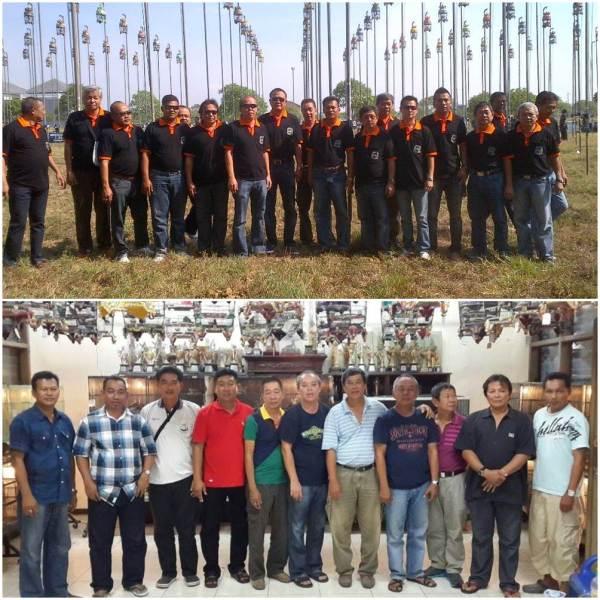 Ah Tiek di Surabaya saat Konkurs Pahlawan Cup November 2013