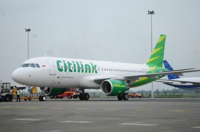 Citilink Airbus 320