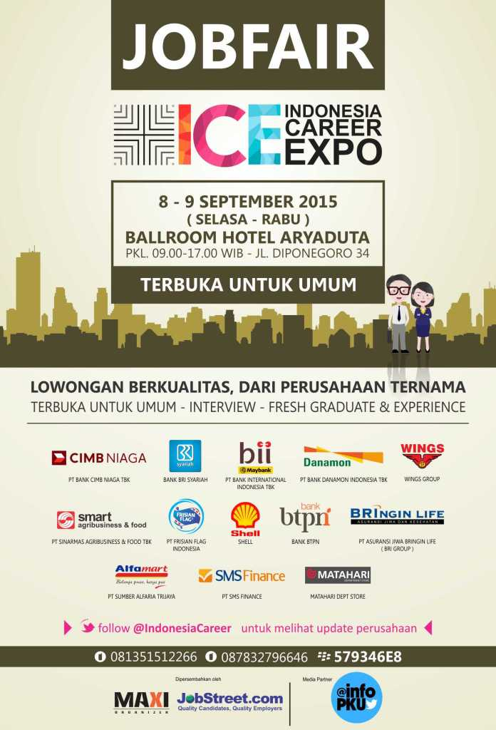 Indonesia Karir Expo 2015 Pekanbaru