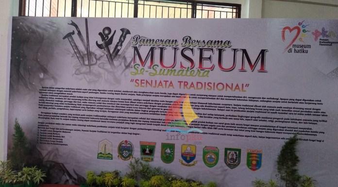 Pameran Museum Se-Sumatera di Pekanbaru
