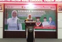 Menaker Ida di Riau