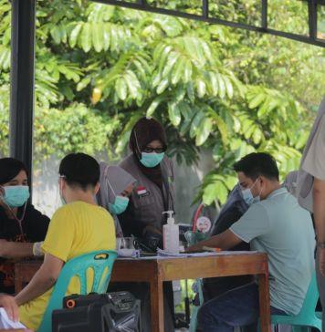 Sebaran Angka Covid-19 Riau