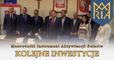 Mazowiecki Instrument Aktywizacji Sołectw – Kolejne inwestycje