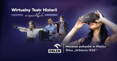 Film w technologii Virtual Reality 360 stopni 3D ''Wiktoria 1920'' w setną rocznicę Obrony Płocka 1920 r.