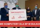 Nowe komputery dla SP w Bulkowie