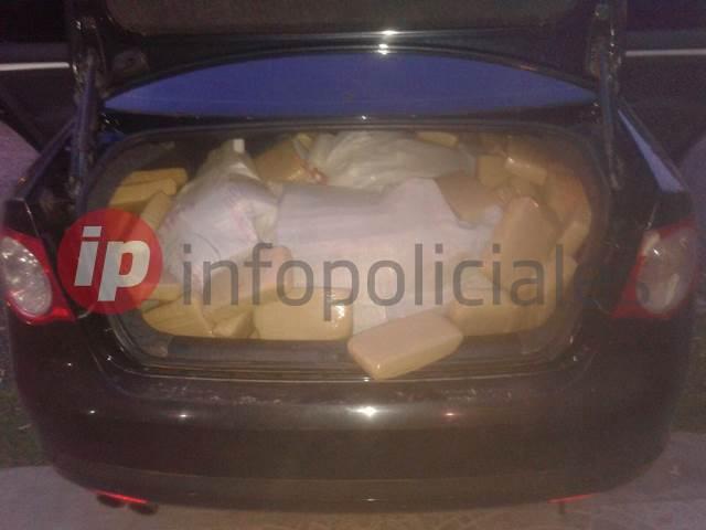 469 kilos 015 gramos de marihuana-Vial San Justo 4