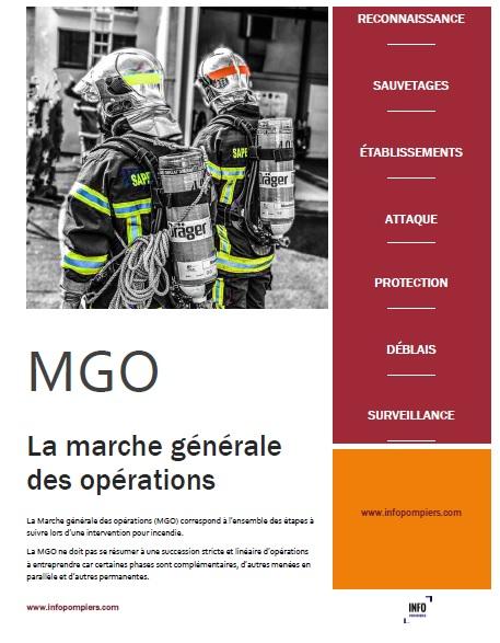 Fiche Marche générale des opérations - MGO incendie -