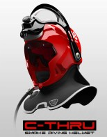 Casque pompier C-thru