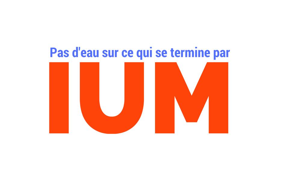 On ne met pas d'eau sur tout ce qui finit par «IUM»… sauf les géraniums