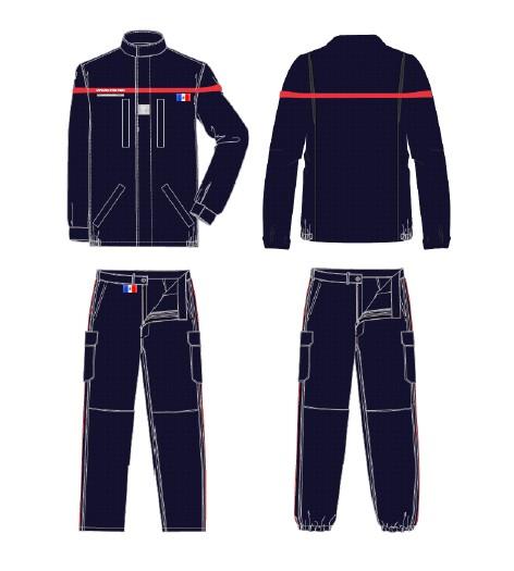 des nouvelles tenues pour les sapeurs pompiers info pompiers. Black Bedroom Furniture Sets. Home Design Ideas