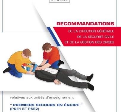 Recommandations PSE1 et PSE2 – version 2018