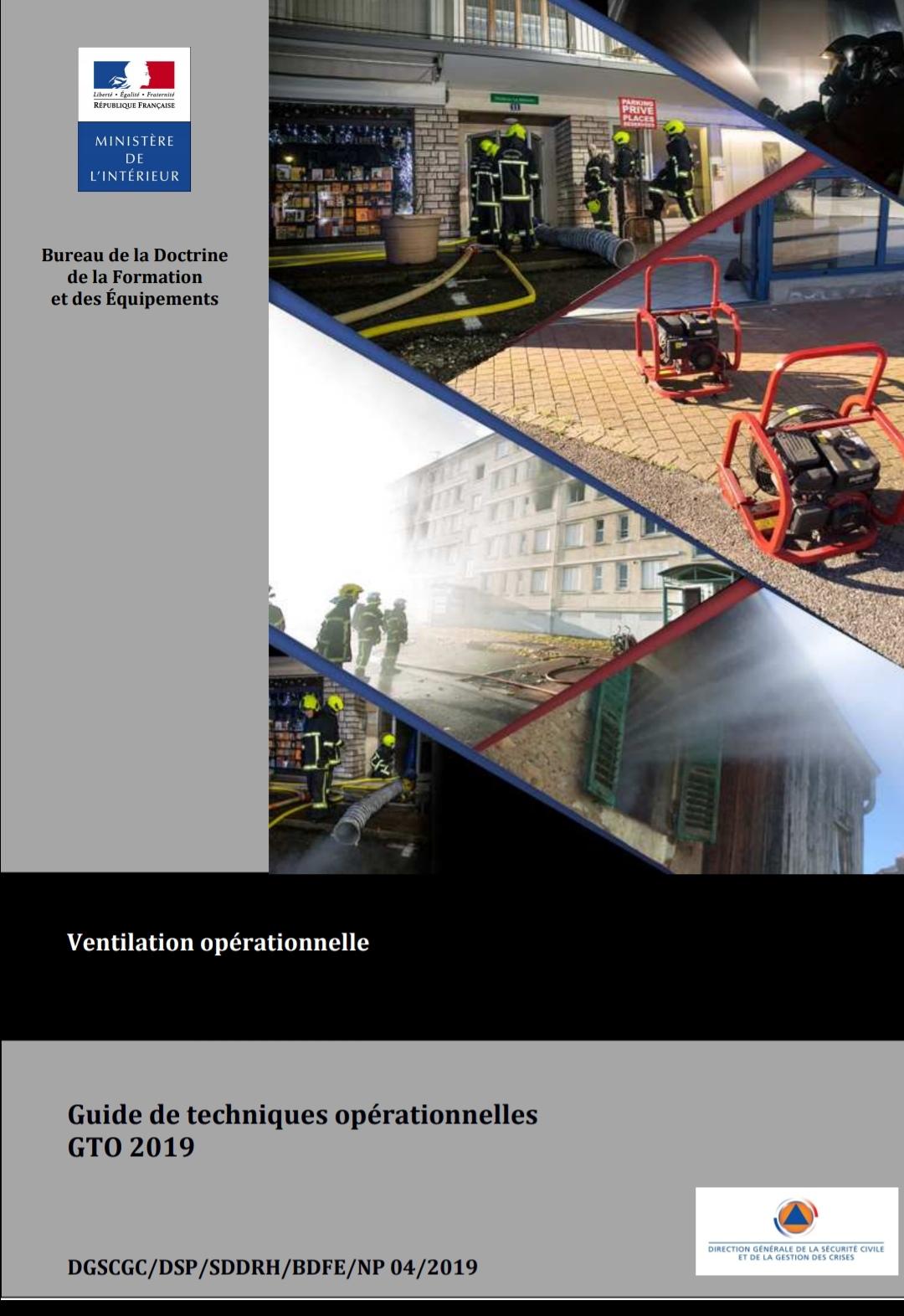 GTO ventilation opérationnelle
