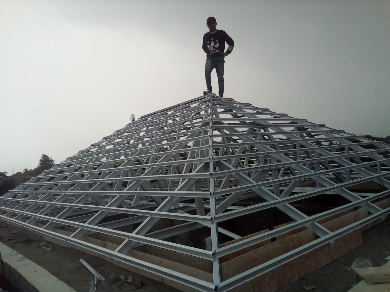 jasa pemasangan baja ringan di depok pasang rangka atap hubungi 085326752508