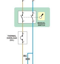 berikut ini adalah contoh rangkaian yang sering di gunakan pada rumah tangga rangkaian ini bisa diterapkan pada beban listrik seperti pada pompa air  [ 1298 x 2640 Pixel ]