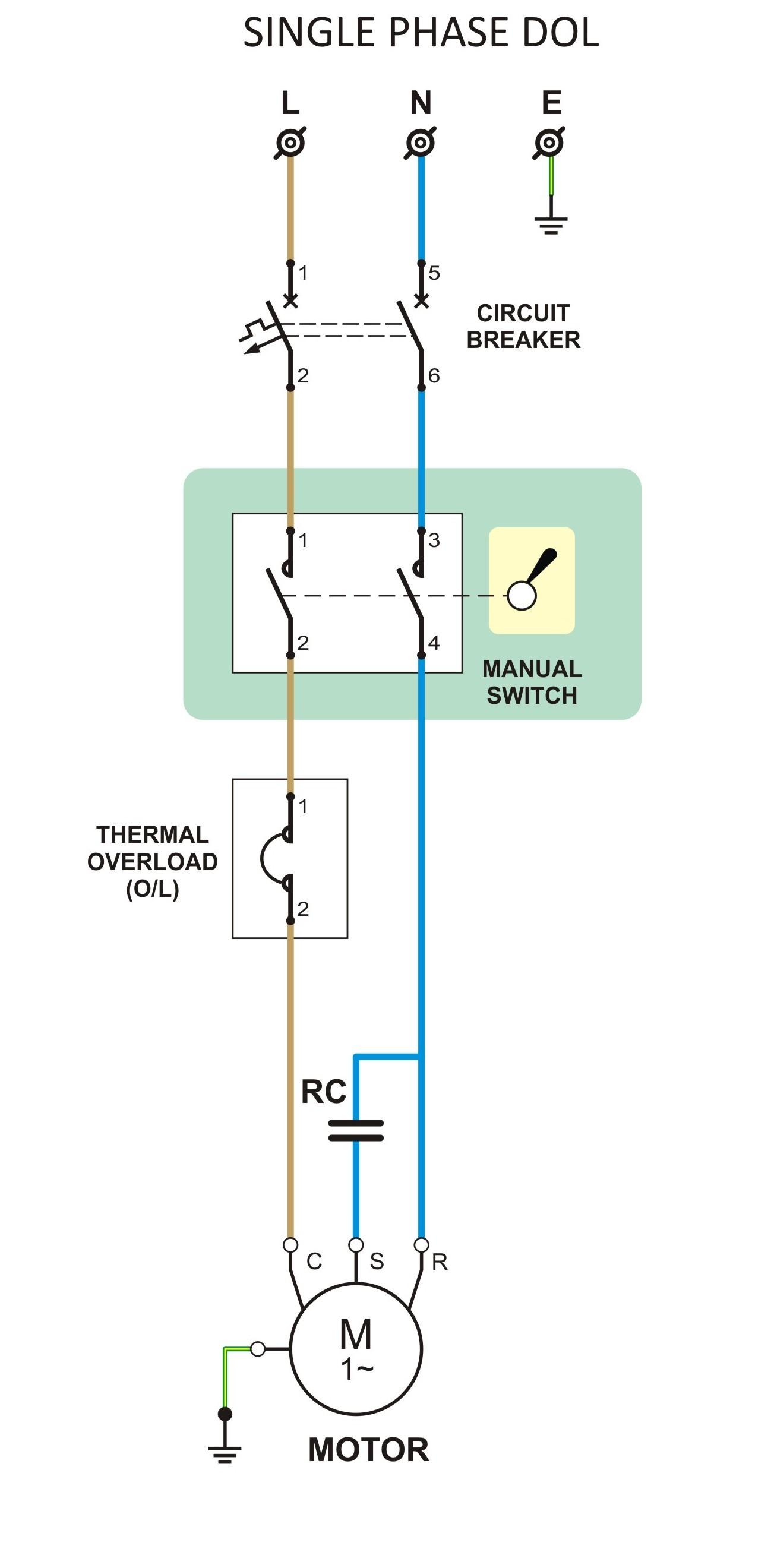 hight resolution of berikut ini adalah contoh rangkaian yang sering di gunakan pada rumah tangga rangkaian ini bisa diterapkan pada beban listrik seperti pada pompa air