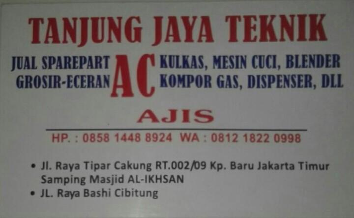 Profil Toko Sparepart Ac Mesin Cuci