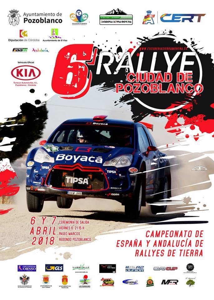 Acento extremeño en el Rallye Ciudad de Pozoblanco | Infoprovincia