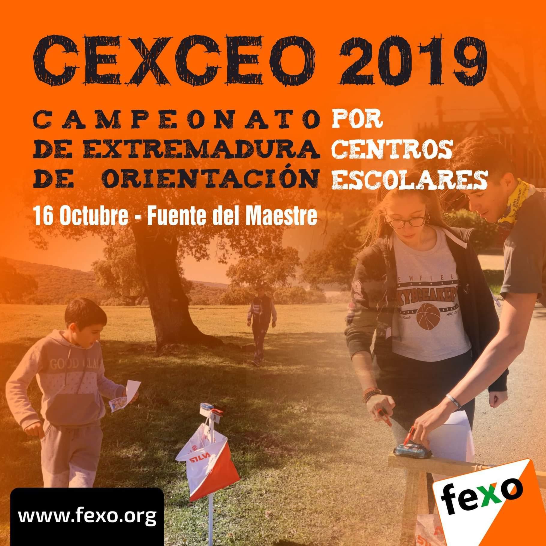 Este Miercoles 16 De Octubre Se Celebra En Fuente Del Maestre El Campeonato De Extremadura De Orientacion De Centros Escolares Infoprovincia