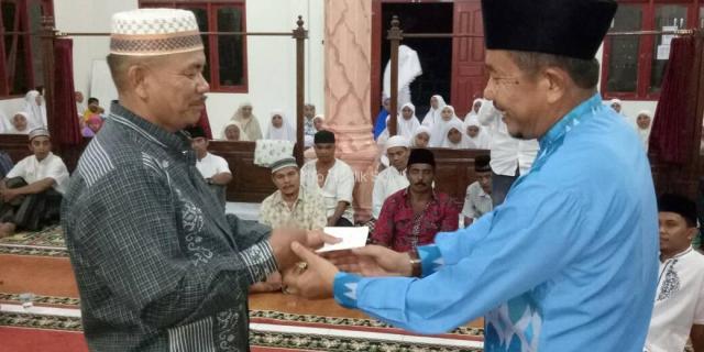 Masjid Baitul Agung Simpang Rumbio Dikunjungi Tim X Safari Ramadhan