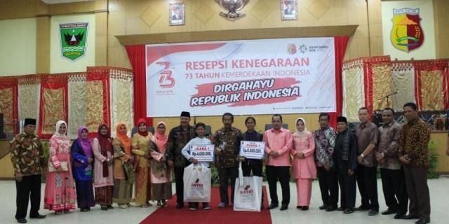 Malam Resepsi Peringatan HUT RI ke-73 di Kota Solok