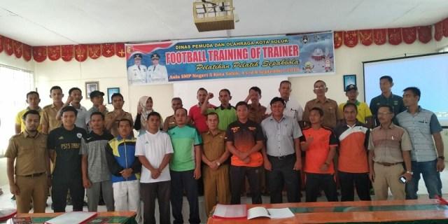 Tingkatkan Skill, Pelatih Sepakbola Ikuti TOT