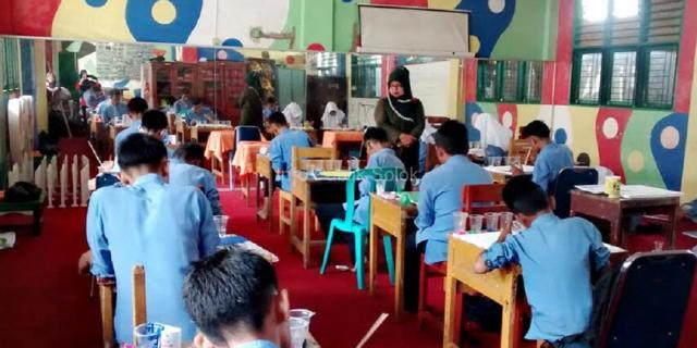 SMP Negeri 1 Kota Solok Sambut 1 Muharram 1440 H