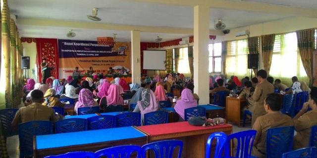 Rakor Perpustakaan Tahun 2019 : Wujudkan Transformasi Perpustakaan Berbasis Inklusi Sosial