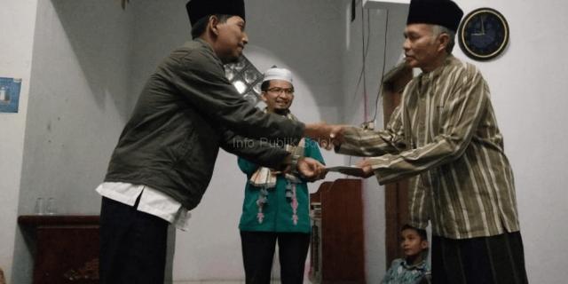 Mushalla Jannatul Ma'wa Kedatangan Tim Safari Ramadhan Kecamatan