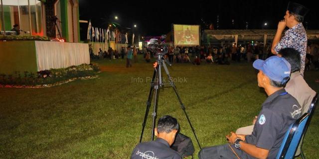 Live Streaming MTQ 38 Sumbar Melibatkan Siswa Broadcasting SMKN 1 Solok