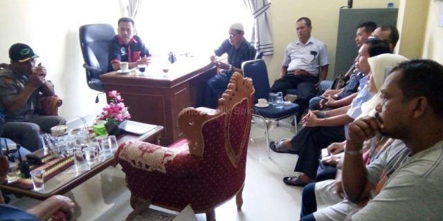 LPMK, RT/RW, Ketua Pemuda Simpang Rumbio Ikuti Pelatihan Pemakaian HT