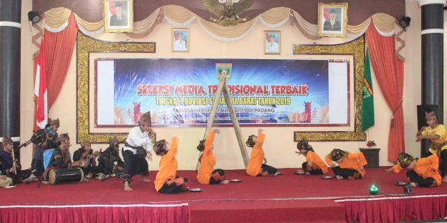 Seleksi Media Tradisional Terbaik Tingkat Sumatera Barat