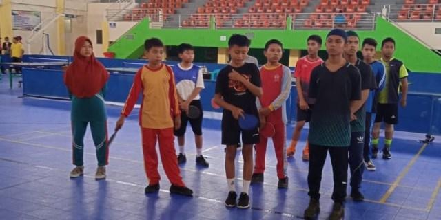 PTMSIKota Solok Gelar Kejuaraan Tenis Meja Tingkat SD dan SLTP