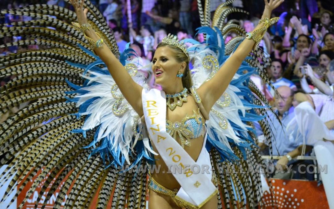 Éxito total en la anteúltima noche del Carnaval del País